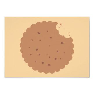 invitación del intercambio de la galleta del invitación 12,7 x 17,8 cm
