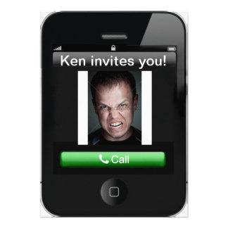 invitación del iPhone