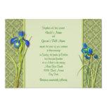 Invitación del jardín del iris
