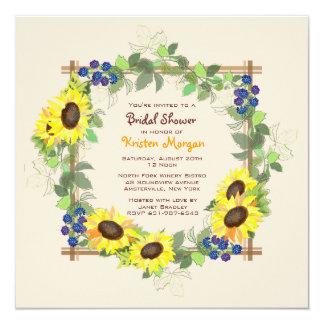Invitación del jardín del verano