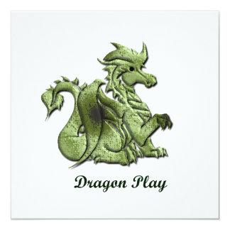 Invitación del juego del dragón