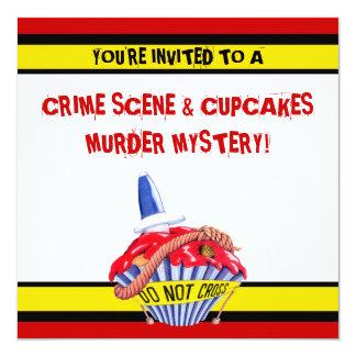 Invitación del misterioso asesinato de la