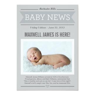 Invitación del nacimiento de las buenas noticias