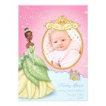 Invitación del nacimiento de princesa Tiana de Dis
