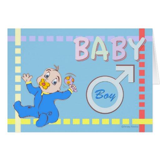 Invitación del nacimiento del bebé tarjetas