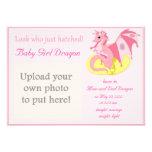 Invitación del nacimiento del Hatchling del dragón