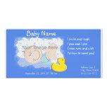 Invitación del nacimiento tarjetas fotograficas personalizadas