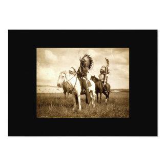 Invitación del nativo americano