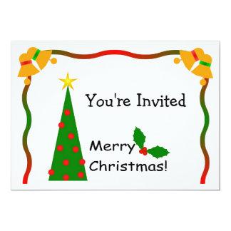 Invitación del navidad