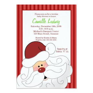 Invitación del navidad de la fiesta de bienvenida