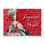 Invitación del navidad de Marie Antonieta Noel