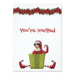 Invitación del navidad invitación 12,7 x 17,8 cm