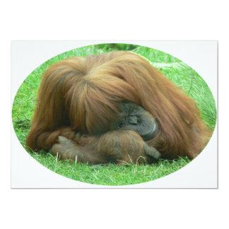 Invitación del orangután