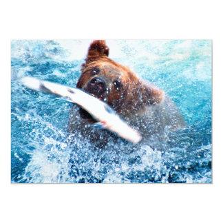 Invitación del oso grizzly