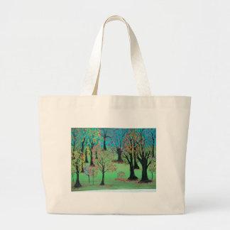 Invitación del otoño bolsas