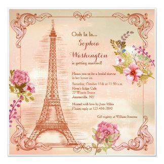Invitación del otoño de las memorias de París
