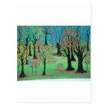 Invitación del otoño tarjetas postales