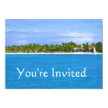 Invitación del paraíso invitación 12,7 x 17,8 cm