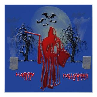 Invitación del parca de Halloween