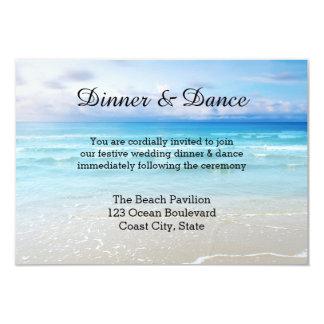 Invitación del parte movible de la playa o del