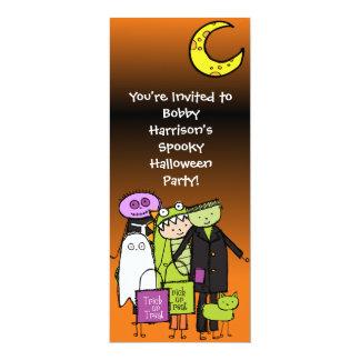 Invitación del personalizado de Halloween