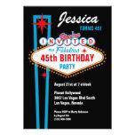 Invitación del personalizado de Las Vegas
