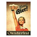 Invitación del personalizado de Oktoberfest del vi