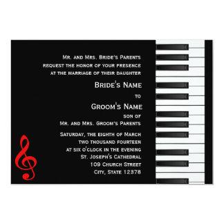Invitación del piano