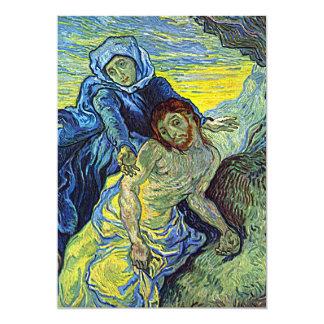 """Invitación """"del Pieta"""" de Van Gogh"""