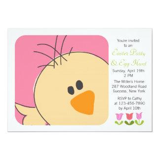 Invitación del polluelo del bebé