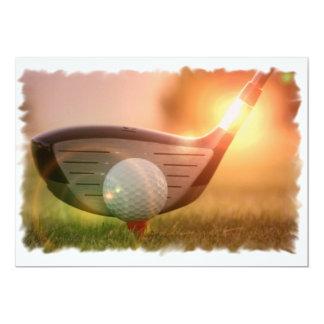 Invitación del Putter del golf
