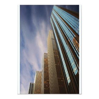 Invitación del rascacielos