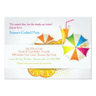 Invitación del refrigerador del verano