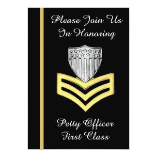 Invitación del retiro de USCG PO1