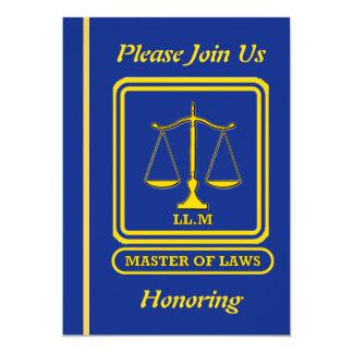 Invitación del retiro del abogado LL.M