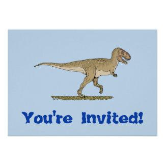 Invitación del rex del T