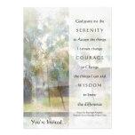 Invitación del rezo de la serenidad