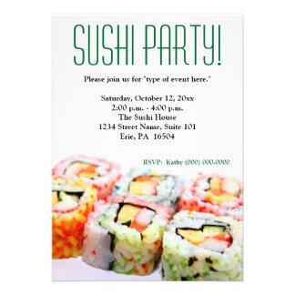 Invitación del sushi