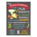 Invitación del Tacos y del fiesta del estreno de u