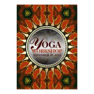 Invitación del taller de la yoga de la tierra del