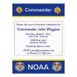 Invitación del teniente comandante de NOAA