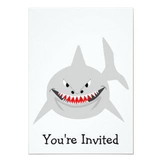 Invitación del tiburón para cualquier ocasión