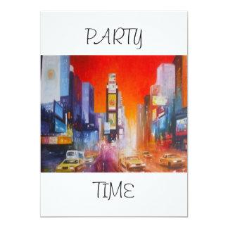 Invitación del tiempo del fiesta de América del
