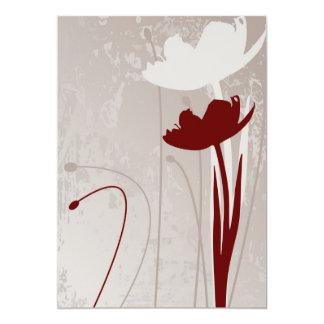 Invitación del tulipán
