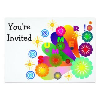 Invitación del verano