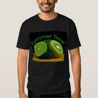 Invitación del verano de la cal del kiwi playera