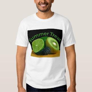 Invitación del verano de la cal del kiwi playeras