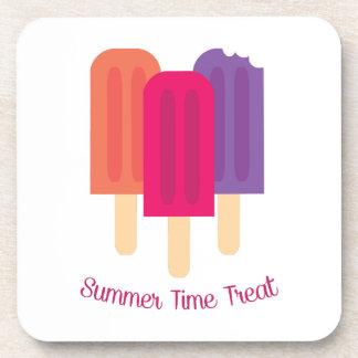 Invitación del verano posavaso