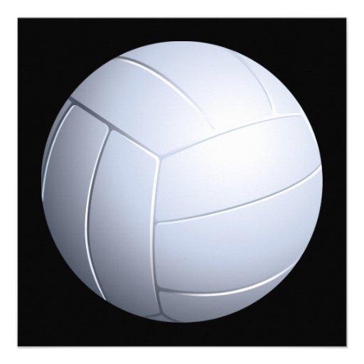 Invitación del voleibol