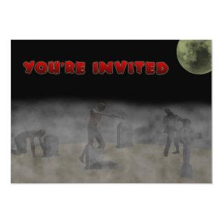 Invitación del zombi